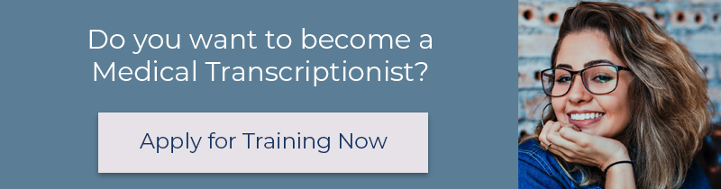 Do you want to become a medical transcriptionist - blog footer