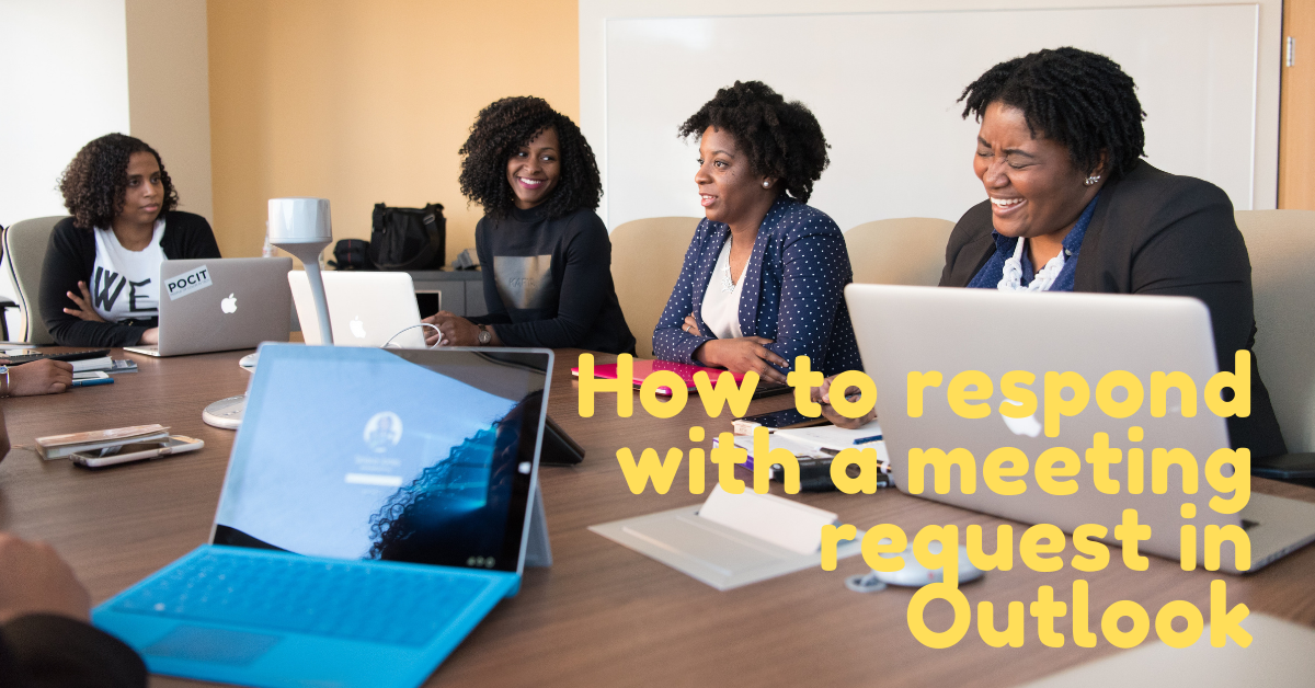 How to respond to a meeting request in Outlook