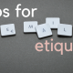 9 tips for email etquette