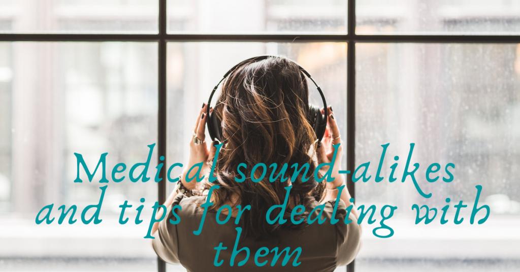 medical sound-alikes