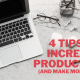 tips to increase productivity