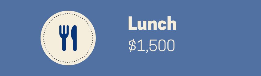 HOW MUCH MONEY CAN YOU SAVE BY WORKING FROM HOME Lunch