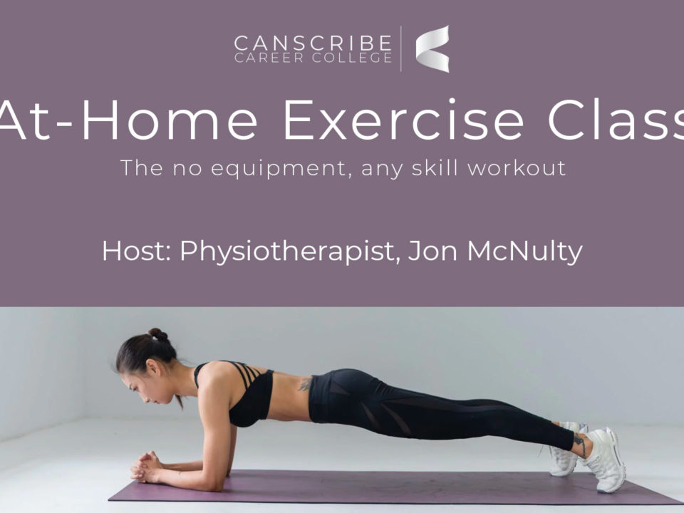 At-Home Exercise Class - Web