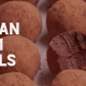 Recipe for Vegan Rum Balls