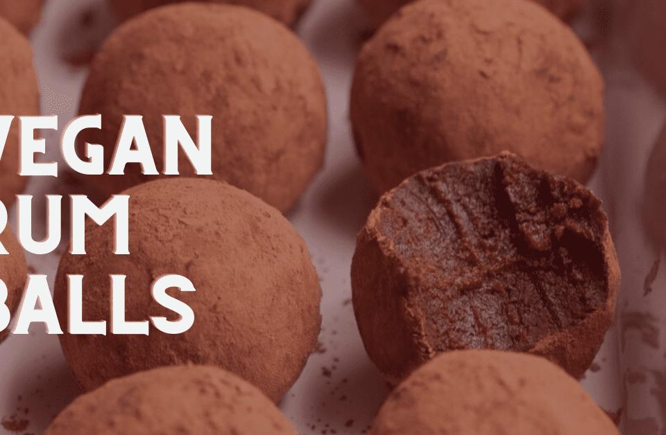 Recipe for Vegan Rum Balls