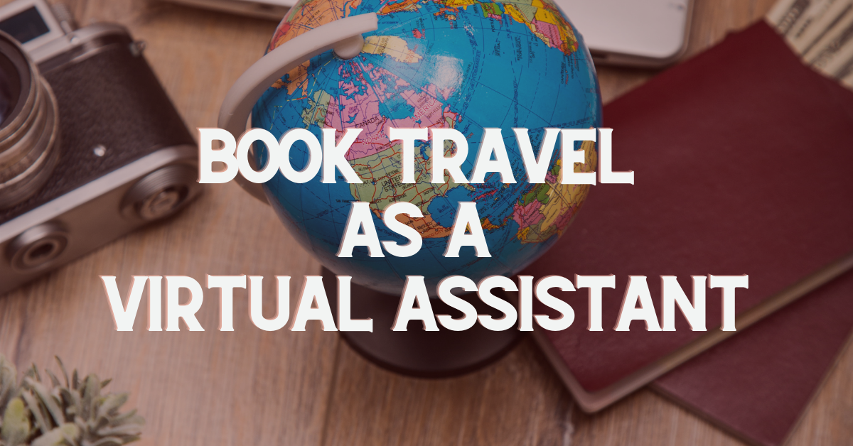 Book Travel as a Virtual Assistant