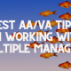 Virtual Assistants Working with Multiple Managers