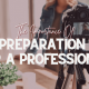 The Importance of Preparation