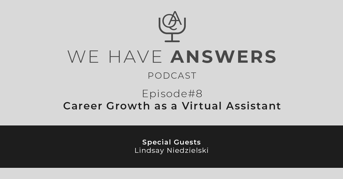 Career Growth as a Virtual Assistant