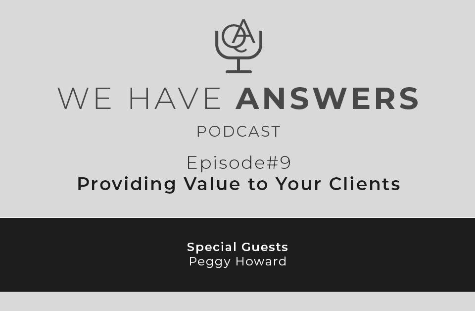 Providing Value to Clients